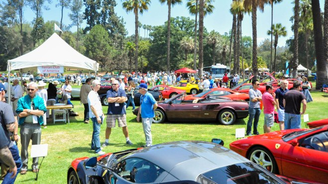 A scene from the San Marino Motor Classic.