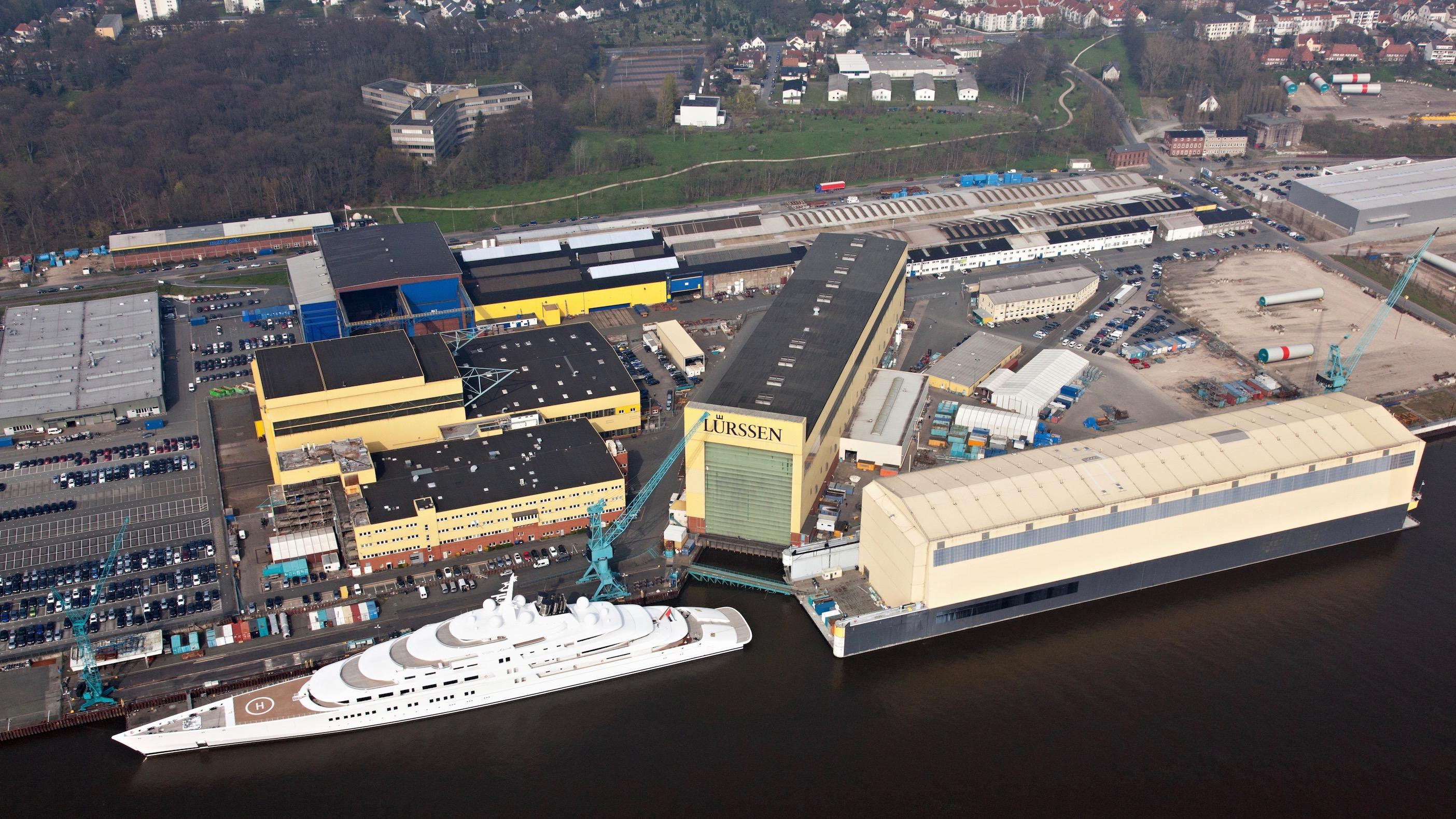 Lürssen Bremen Aumund Azzam Shipyard Germany
