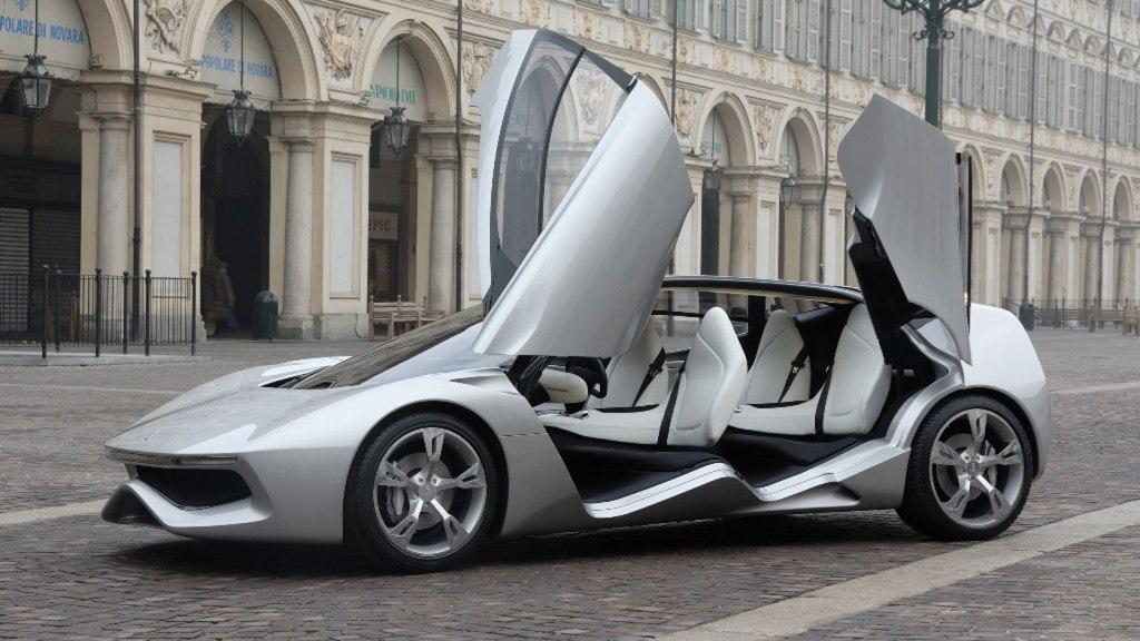 The Pininfarina Sintesi.