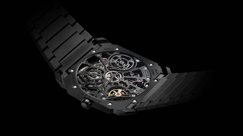 Bulgari Octo Ultranero Skeleton