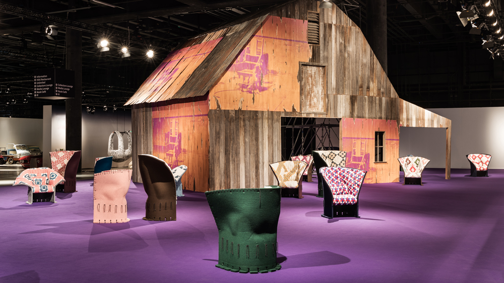 Raf Simons DesignMiami chairs