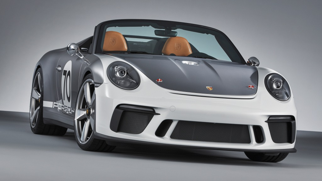 The Porsche 911 Speedster Concept.