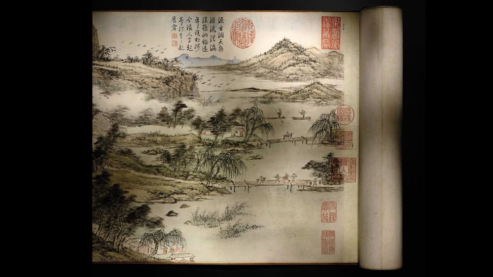 Ten Auspicious Landscapes of Taishan