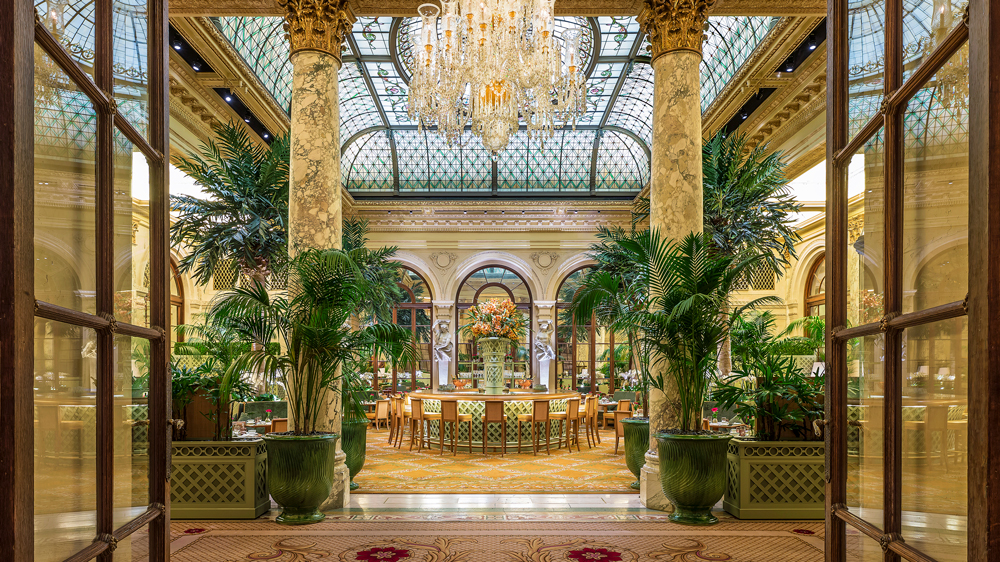 The Plaza Hotel palm court