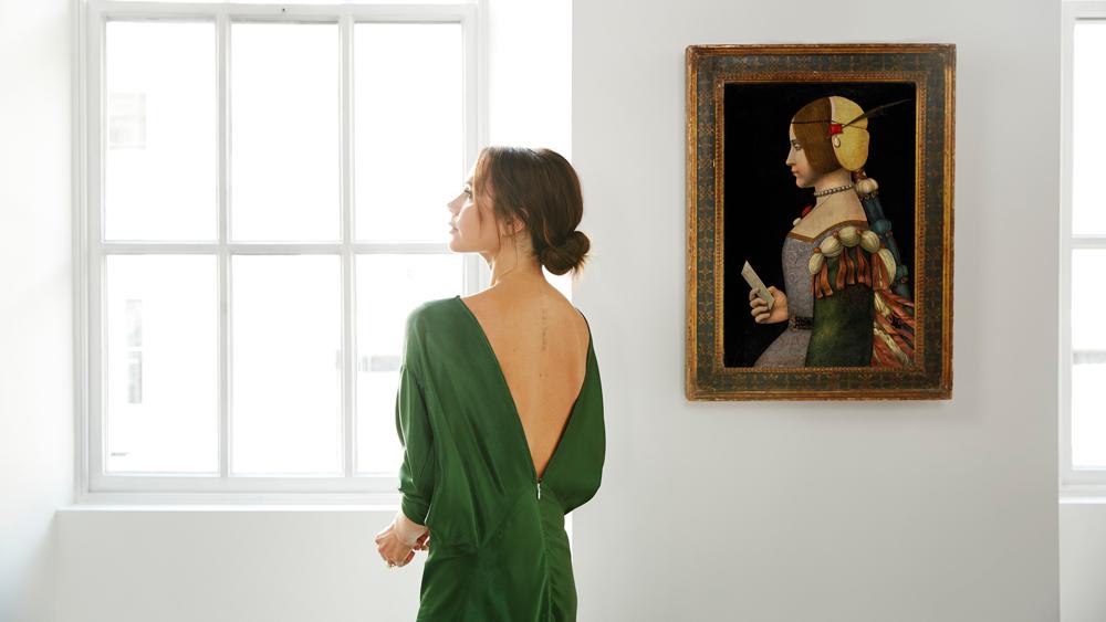 Victoria Beckham Leonardo da Vinci