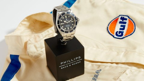 Steve McQueen Rolex Submariner at Phillips