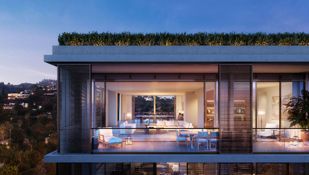 Penthouses at the West Hollywood Edition