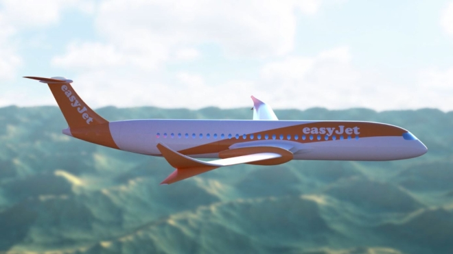 Wright Electric EasyJet airliner