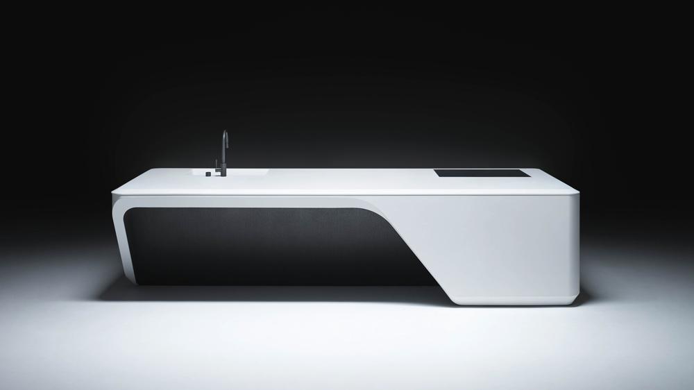 Cove, A sculptural kitchen suite