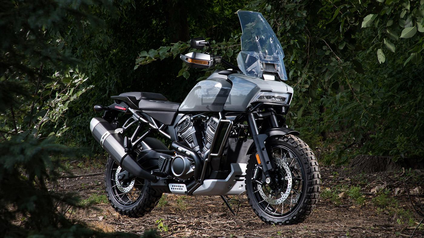 The Harley-Davidson Pan America 1250 motorcycle.