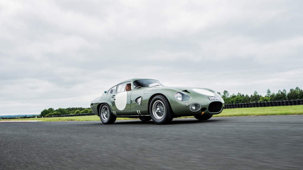 The 1963 Aston Martin DP215 Grand Touring Competition Prototype.