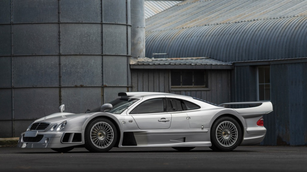 The 1998 Mercedes-Benz CLK GTR being offered at the 2018 RM Sotheby's Monterey Sale.