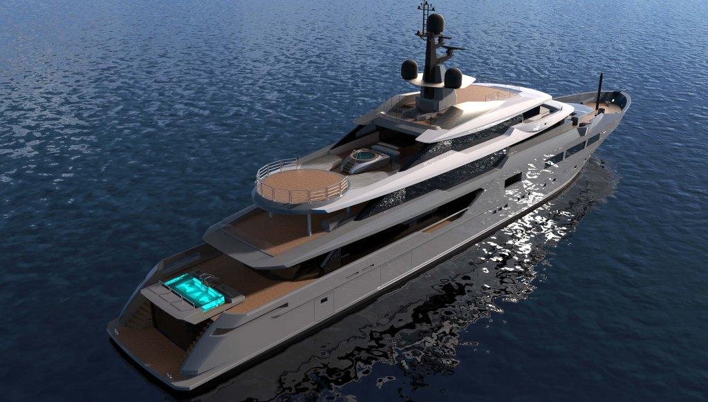 Tankoa's new 236-foot superyacht Solo