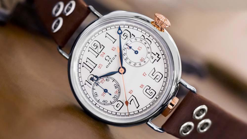 Omega Wrist-Chronograph Limited Edition watch