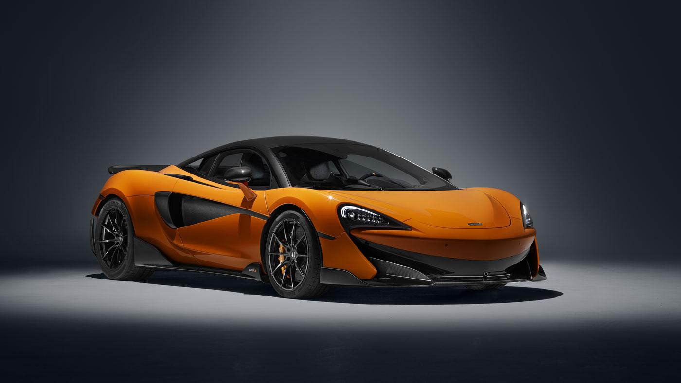 The McLaren 600LT.