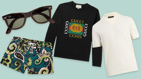1980s Inspired Luxury Menswear