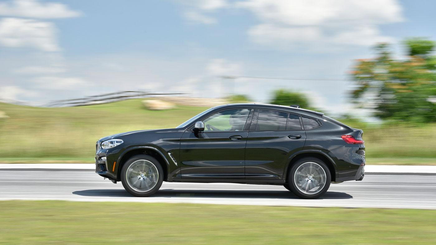 The 2019 BMW X4.