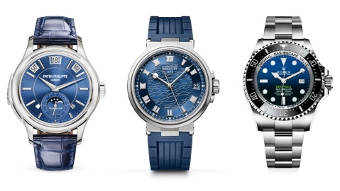 Blue Dial Watches
