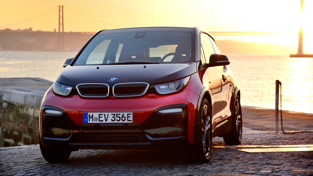 The BMW i3s electric car.