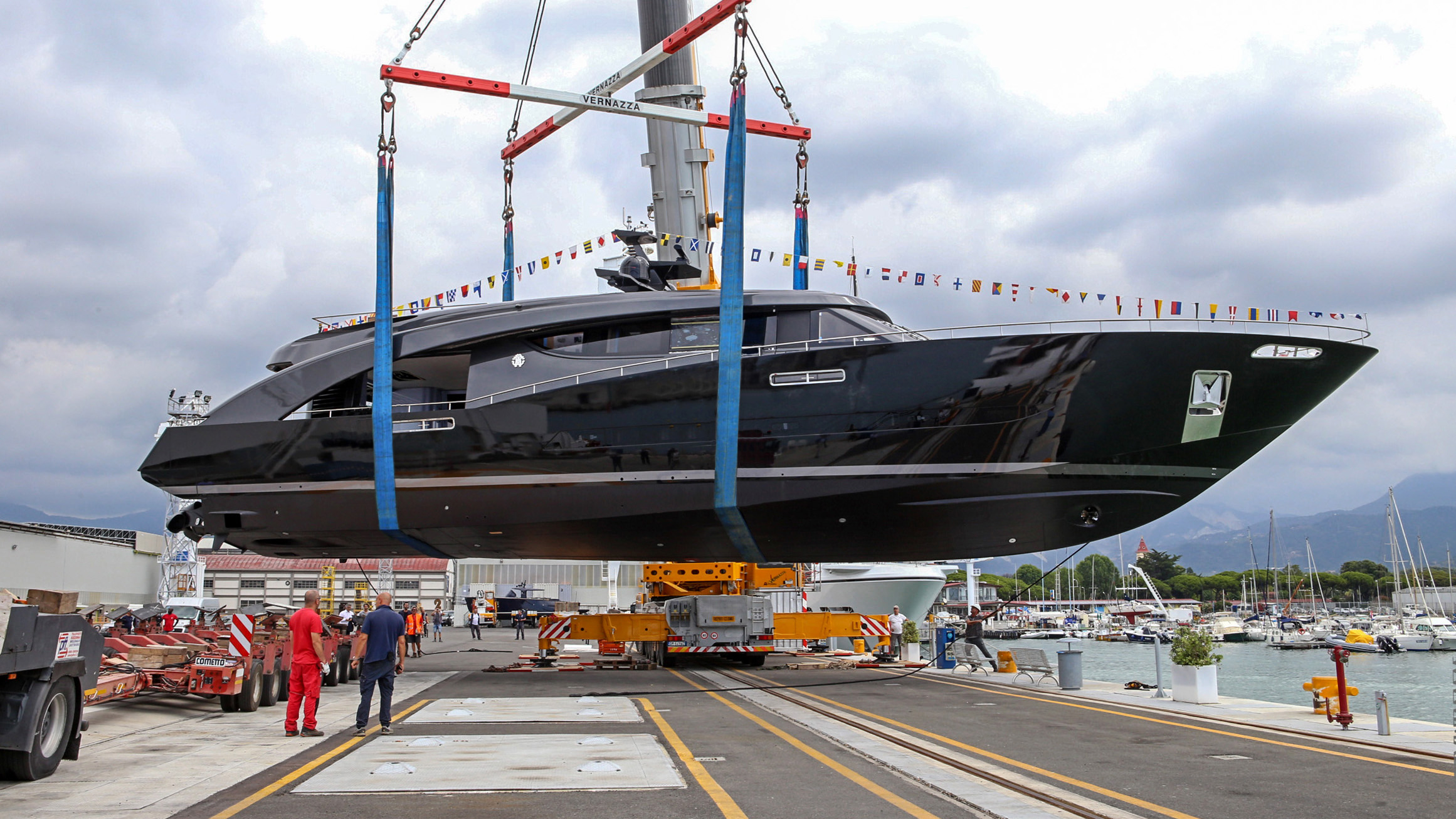 CCN launches 88 foot Freedom, fashion designer Roberto Cavalli's latest yacht