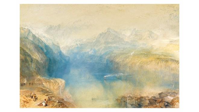 Turner Lake of Lucerne painting