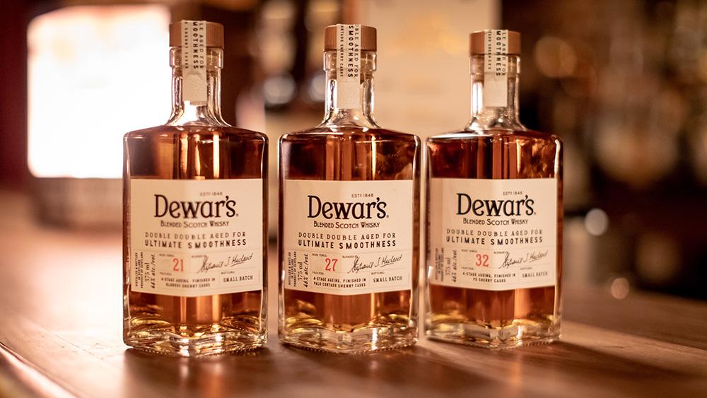 dewars double double scotch
