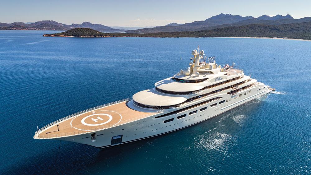 Espen Øino Dilbar yacht