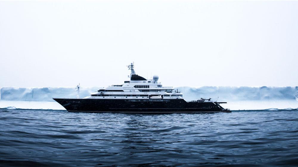 Espen Øino Octopus yacht