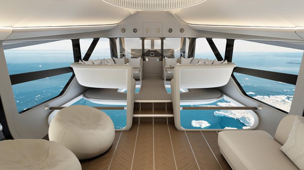 Airlander 10 DesignQ interior