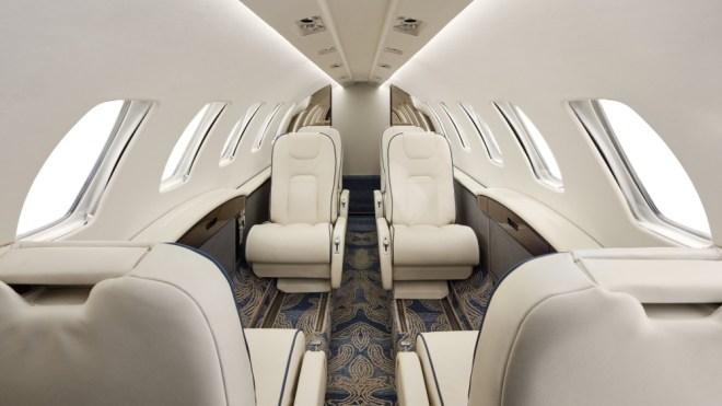Frank Ponterio Cessna CJ2+ interior