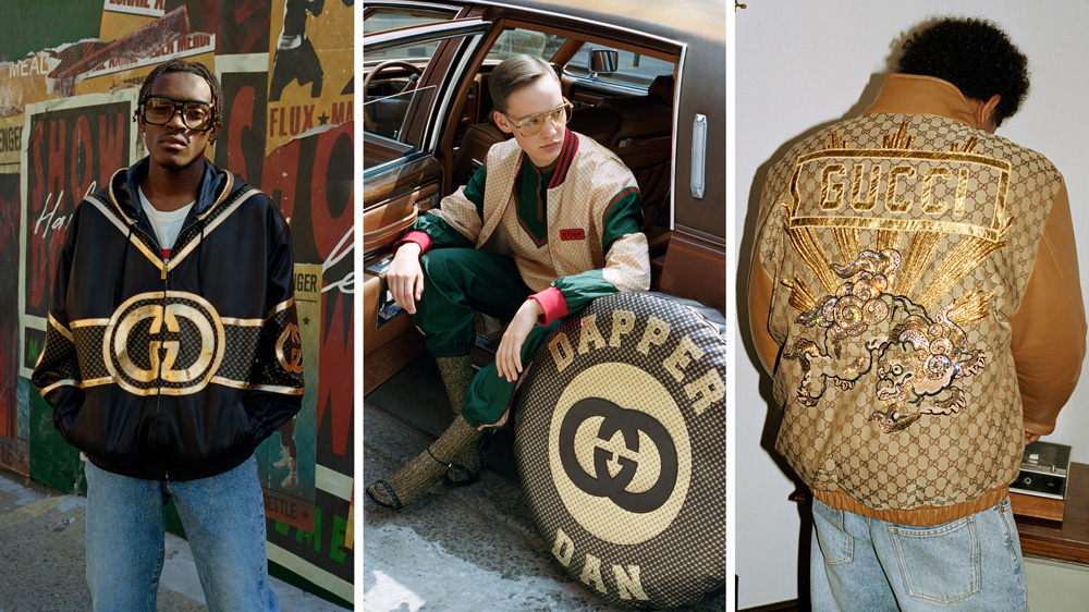Gucci x Dapper Dan Men's Clothing collection
