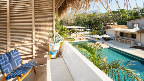 Gilded Iguana Surf Hotel, Costa Rica