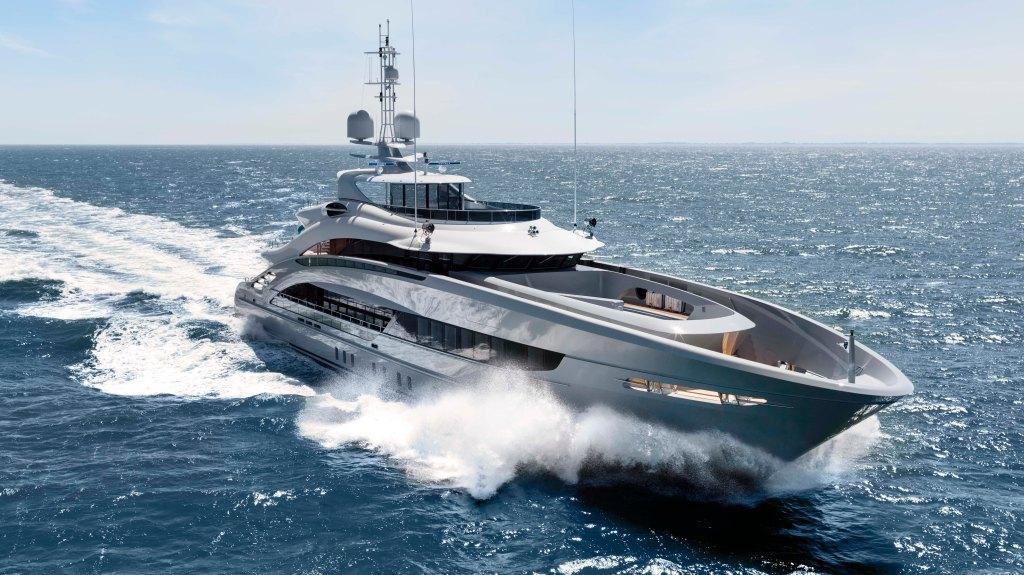 Heesen's 164-foot superyacht Omaha.