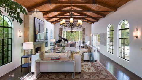Dennis Quaid Pacific Palisades home