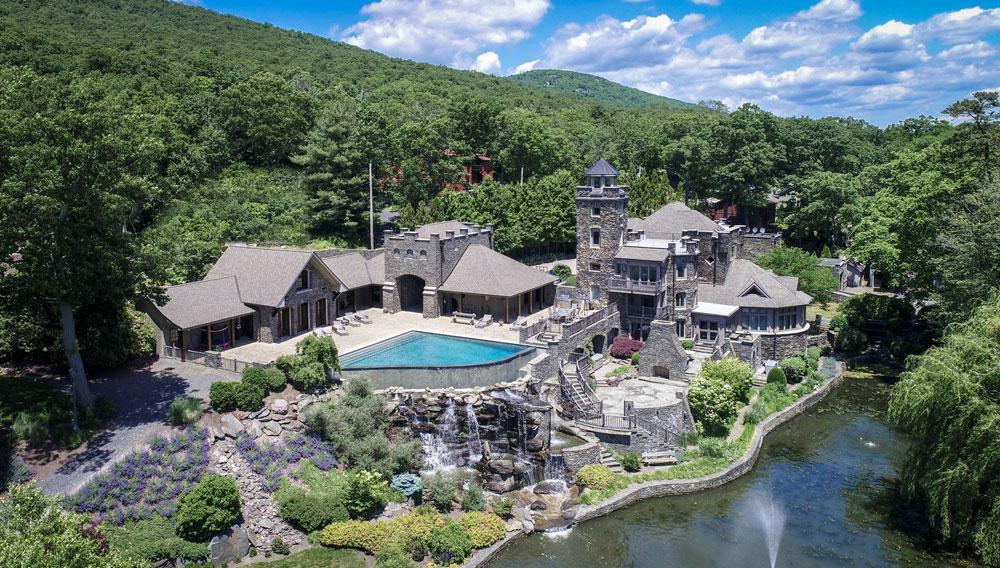 Tiedemann Castle in Greenwood Lake, New York