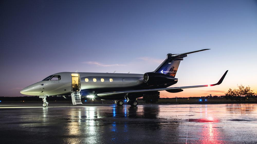 Embraer Legacy 450 midsize transatlantic record