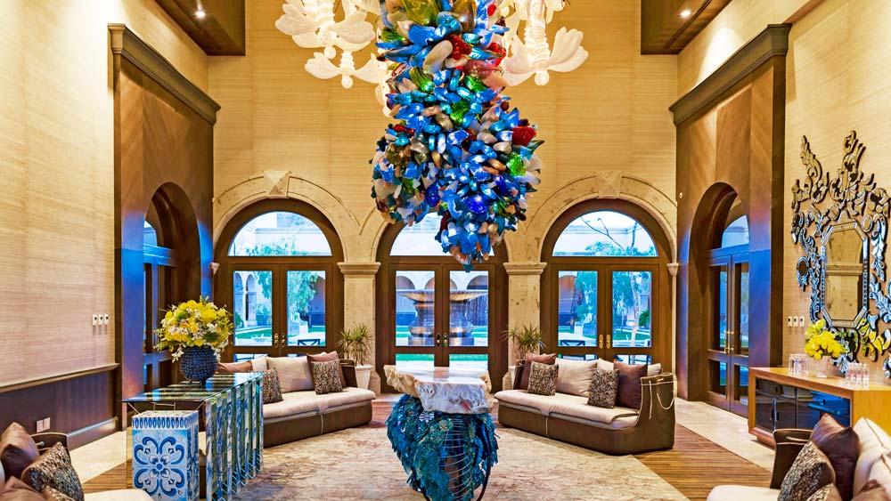 Patron hotel lobby