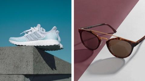 Adidas sneakers Huntsman sunglasses