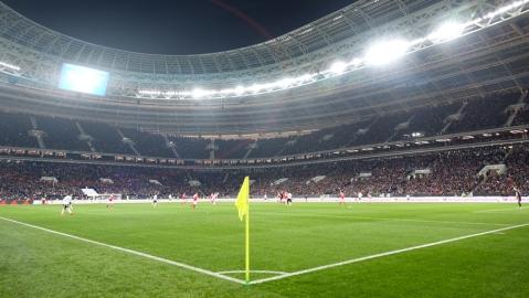 2018 World Cup Luzhniki Stadium private jet