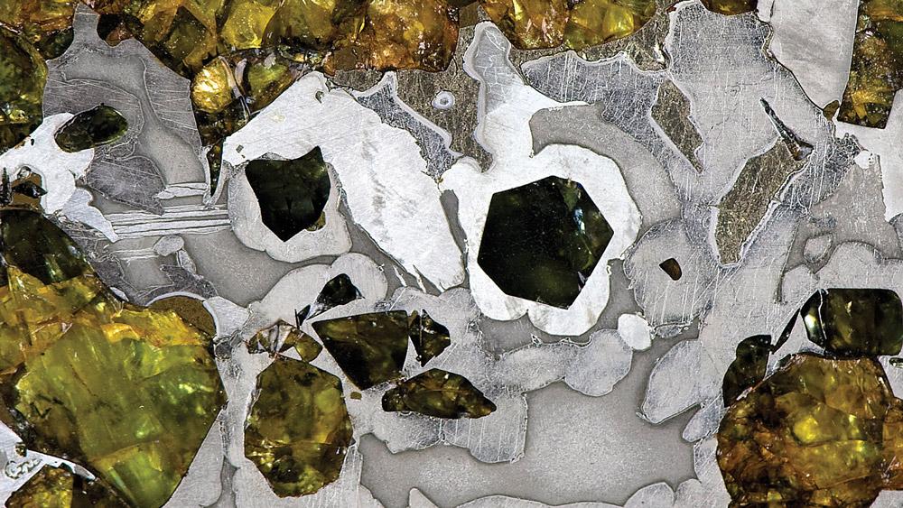 Meteorite- Stony-Irons