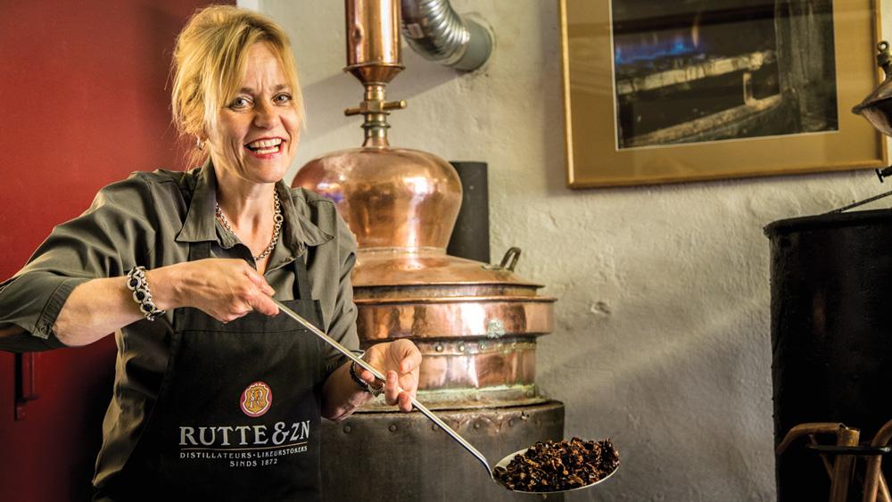 Rutte Master Distiller Myriam Hendrickx