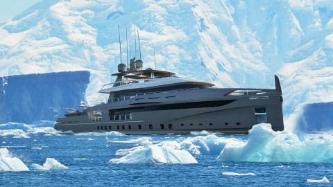 Ocea Nemo Ice explorer yacht