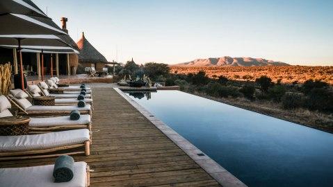 Oomaanda Safari Lodge in Namibia Zannier Hotels