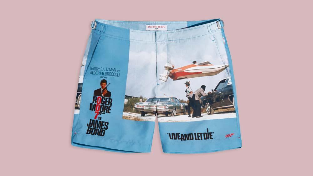 Orlebar Brown James Bond swim shorts