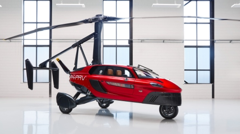 Pal-V Liberty Flying Car