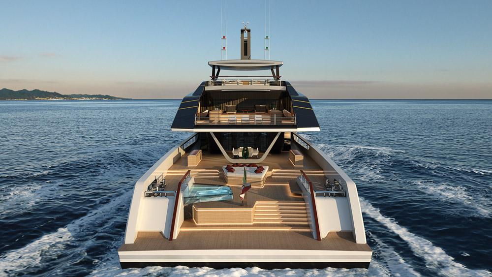 Pentagramma concept yacht