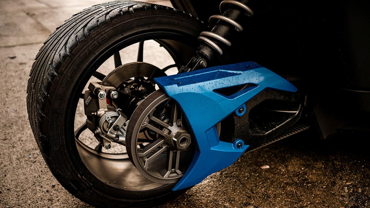 The 2018 Polaris Slingshot SLR three-wheeler.