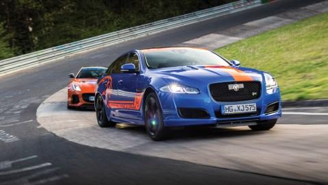 Jaguar's Race Taxi Experience