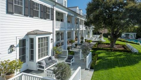 Rob Lowe's Home in Montecito, California