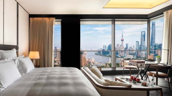 The Bulgari Hotel, Shanghai room